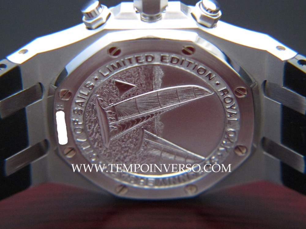Tempo inverso: audemars piguet 30th anniversary city of sails.