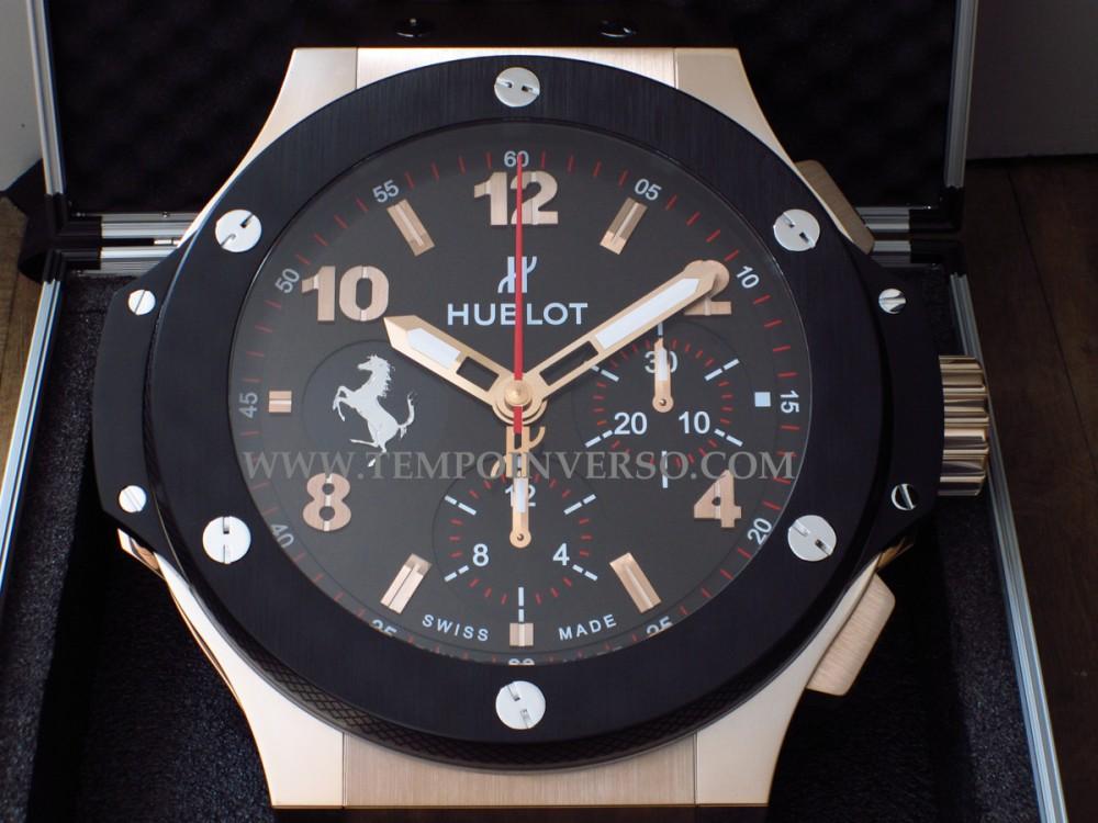 Tempo Inverso Hublot Wall Clock Formula 1 Paddock Full