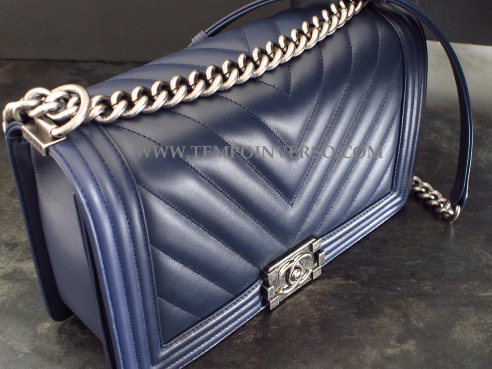 Tempo Inverso   CHANEL - Boy Bag Chanel Large size unused and full set e055c474e0c2