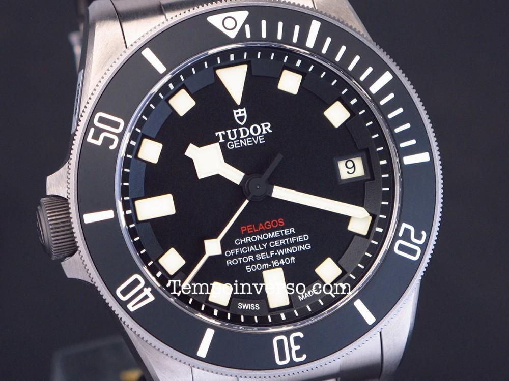 Tempo Inverso Tudor By Rolex Lhd Titanium Full Set