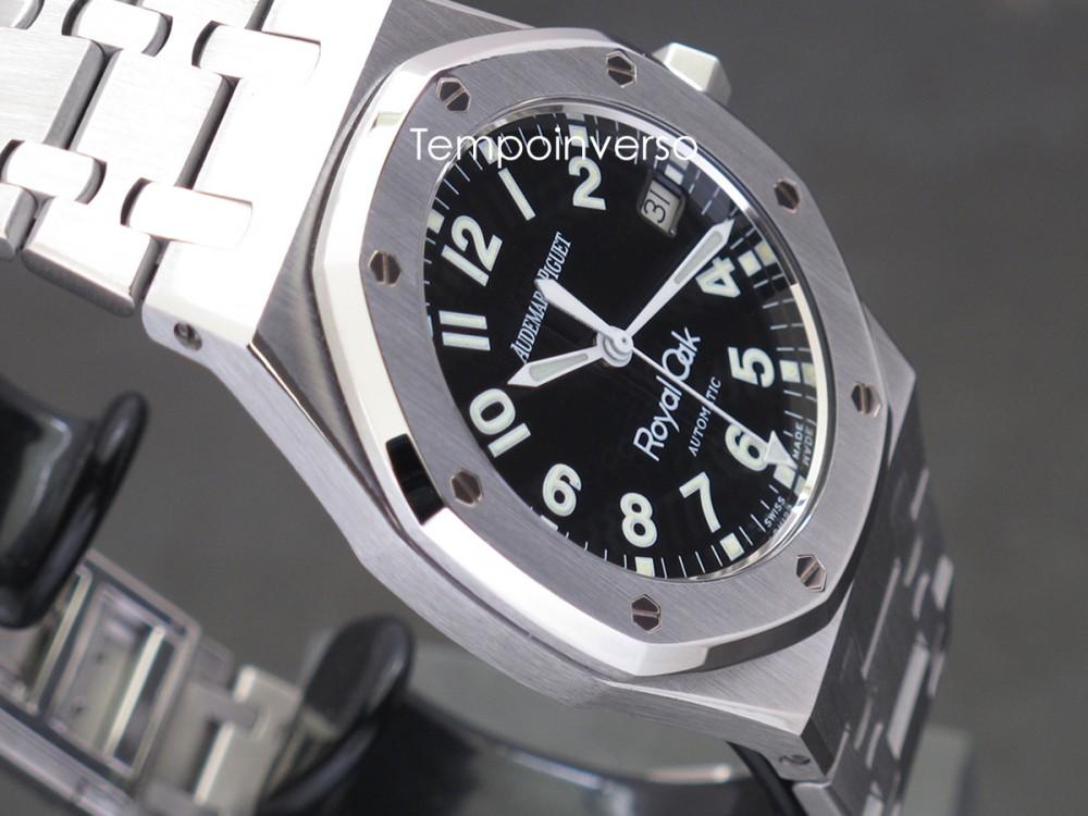 ac6381fbc3e Tempo Inverso : AUDEMARS PIGUET - 36mm auto Military dial full set ...